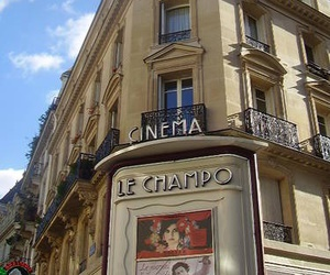 cinema, france, and paris image