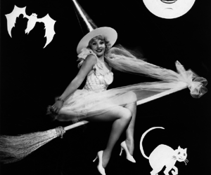 witch, vintage, and Halloween image