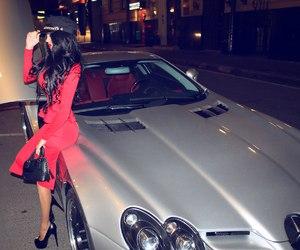 car, girl, and beautiful image
