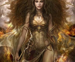 fantasy, art, and goddess image