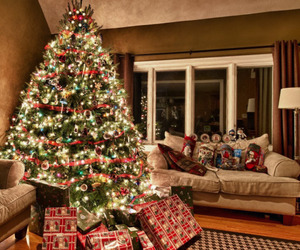 christmas, presents, and santa claus image