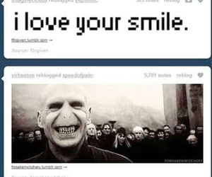 smile, funny, and harry potter image