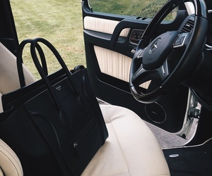 bag, car, and black image