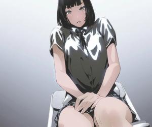 manga girl, prison school, and anime image