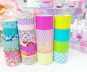 school, washi tape, and cute image