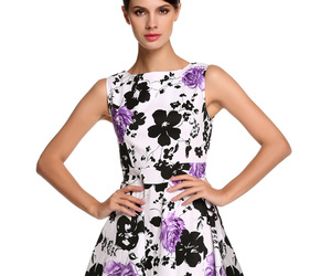 floral dress, acevog, and Halloween image