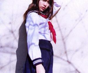 girl, 女の子, and 素材 image