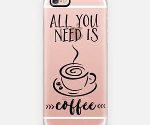 coffee, typography, and pink image