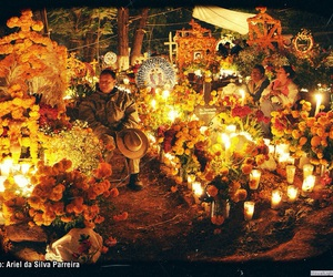 autumn, day of dead, and muerte image