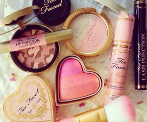 makeup, too faced, and girly image
