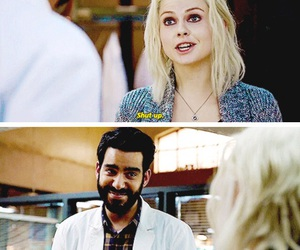 ravi, izombie, and rose mciver image