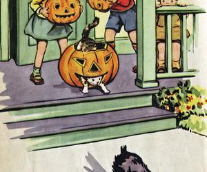 Halloween, dog, and vintage image