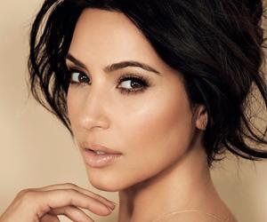beauty, kim, and kim kardashian image