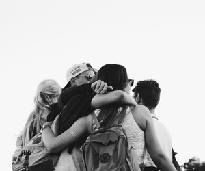 backpack, friends, and young image