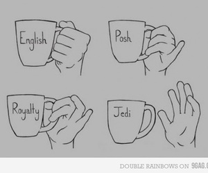 jedi, tea, and english image