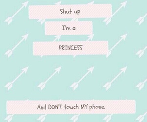 princess, wallpapers, and don't touch my phone image
