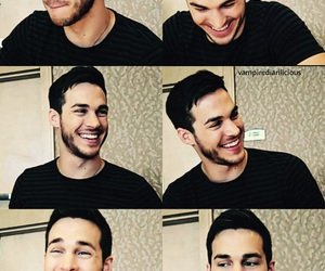 chris wood, tvd, and contaiment image