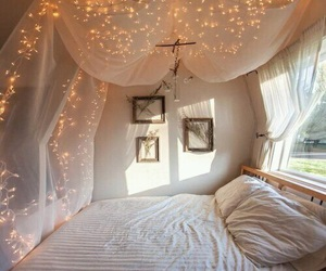 bedroom, photography, and cozy image