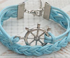 bracelet and blue image