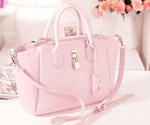 pink, bag, and fashion image