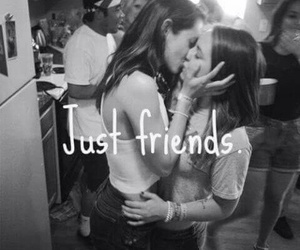 lesbian, friends, and girls image
