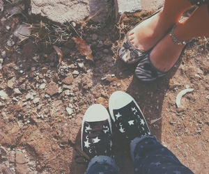 autumn, shoes, and converse image