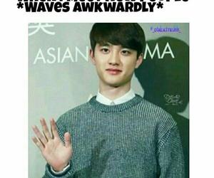 exo, kpop meme, and d.o image
