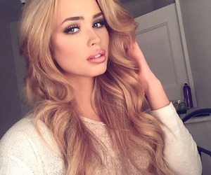 beauty, blonde, and make up image