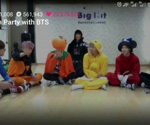 Halloween, jin, and korean image