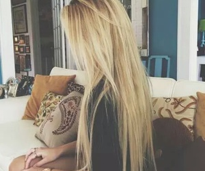 awesome, blond, and long hair image