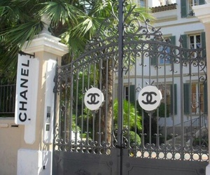chanel, entrance, and gate image