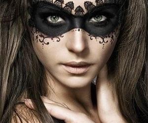 Halloween, makeup, and mask image