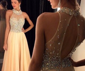 evening dress, Prom, and prom dress image