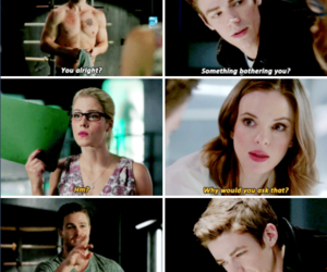 barry allen and caitlin snow image