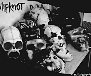 band, mask, and rock n roll image