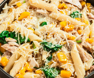 Chicken, parmesan, and pasta image