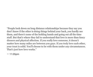 distance, love quotes, and quotes image