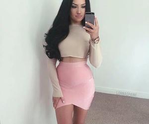 fashion, girls, and pink image