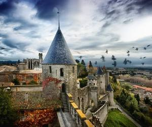 france and carcassone image