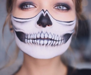 halloween make up image
