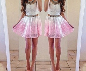 beautiful, spring, and clothes image