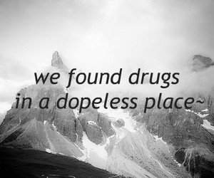 drugs, dope, and text image