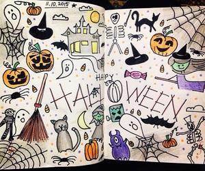art, autumn, and bat image