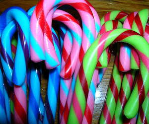 candy cane, candy, and christmas image