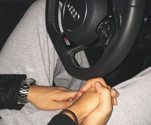 audi, couples, and holding hands image