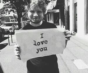ed sheeran, music, and I Love You image
