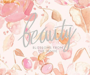 beauty, pretty, and blossom image