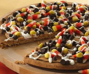Halloween, chocolate, and pizza image