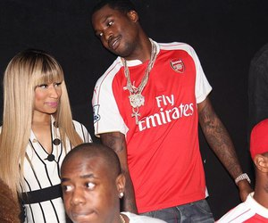 couple, meek mill, and love image