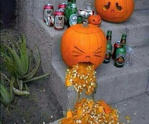 pumpkin, Halloween, and funny image